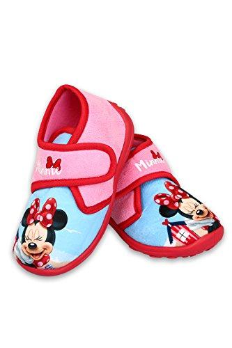 Disney Minnie Mouse Hausschuhe Laufschuhe Pink für Mädchen