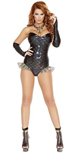 Ursula Little Mermaid Costume (Ursula's Beauty Mermaid Halloween Costume - Black - Small)