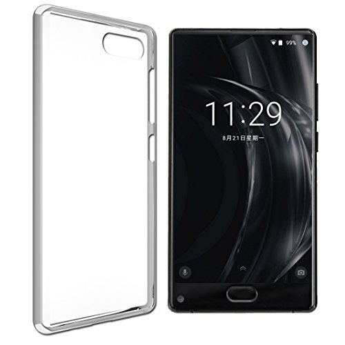Everstars for DOOGEE MIX Case [Soft Material] [Stylish Style] [ Full-body Protective][ Shock Absorption] Cell Phone case for DOOGEE MIX (White)
