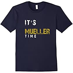 Mens It's Mueller Time Anti Trump Resist Shirt XL Navy