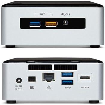 Intel NUC Desktop/HTPC 5th Generation Intel Dual-Core i3 2.10GHz, 8GB Ram, 120GB SSD, Wifi, Bluetooth, 4K Support, Dual Monitor Capable, Windows 10 Professional 64Bit