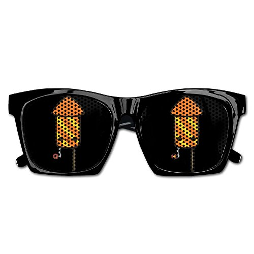 Xing Stars Colorful Summer Unisex Cartoon Bazooka Fireworks Fashion Party Costume - Firefighters Discount Sunglasses For
