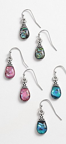 inlaid-abalone-shell-earrings-3-colours-one-card-of-two-supplied-chosen-a