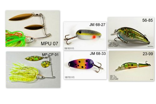 Akuna [MS] Pros' pick recommendation collection of lures for Bass, Panfish, Trout, Pike and Walleye fishing in Mississippi(Bass - Mississippi Bass Pro