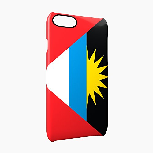Flag of Antigua and Barbuda Glossy Hard Snap-On Protective iPhone 7 Case Cover