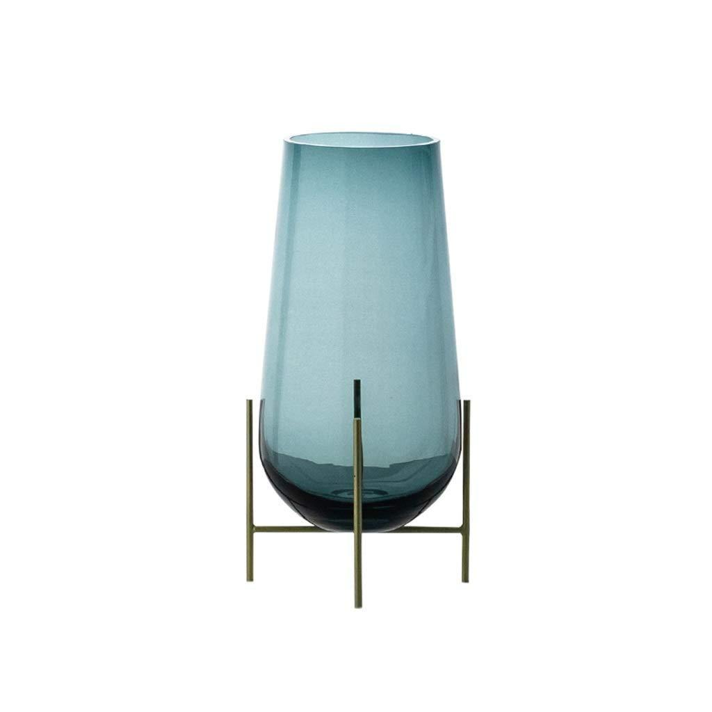 シックな花瓶 クリスタルガラス花瓶AXZHYZ1906001モダン家具装飾人格装飾16×11×35センチ 写真シックな花瓶シリンダー花瓶、装飾用花瓶 B07SMQS5TJ