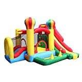 Best Inflatable Bouncers With Slides - BestParty Inflatable Bouncers Slide Jumping Climbing Balloon 6 Review
