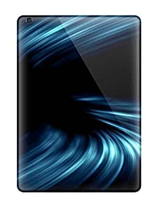 For XlTfDJE14831HDAnz Nice Blue Flash Protective Case Cover Skin/ipad Air Case Cover