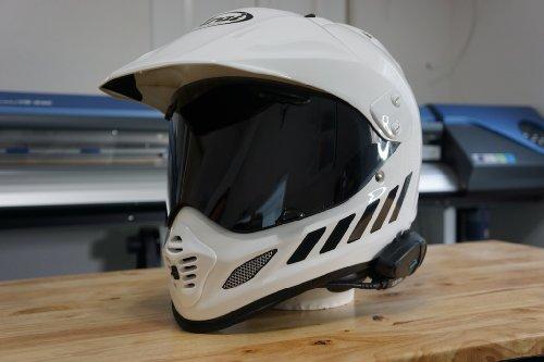 Reflective Motorcycle Helmet Decal Kit Amazoncom - Reflective helmet decals
