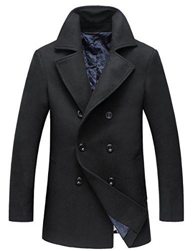 Wool Pea Jacket - 8