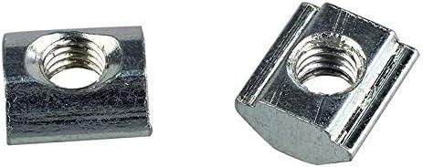 10Pcs T-Slot Aluminum Extrusion 20 Series M5 Hardware Slide In T-Nut