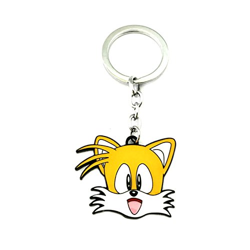 Athena Brand Sonic The Hedgehog Game Gaming Key Ring Keychain for House Boat Auto Keys]()