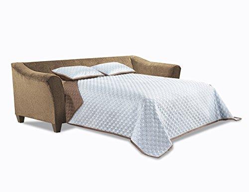 Amazon Com Simmons Upholstery 6485 04q Truffle Albany