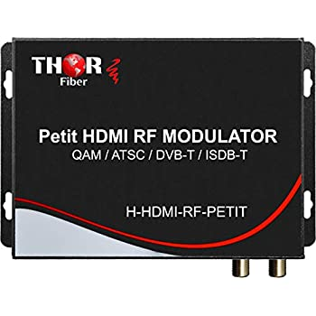 Image of Distribution HDMI to Coax Modulator Send HDMI Video Source up 1080p to All TVs as HD CATV QAM or ATSC Channels