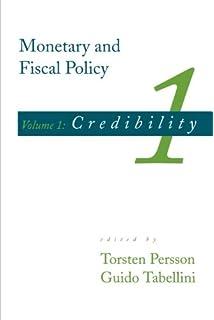 macroeconomic policy credibility and politics persson t tabellini g