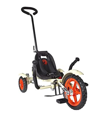 Mobo Total Tot The Roll-to-Ride Three Wheeled Cruiser, 12-Inch