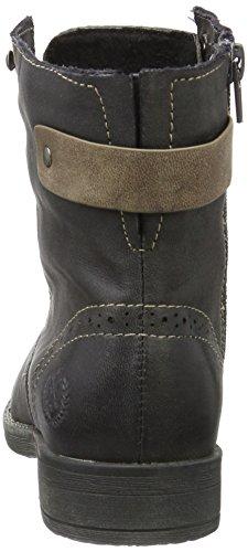 Jane Klain Damen Bootie Combat Boots Grau (210 GRAPHITE)