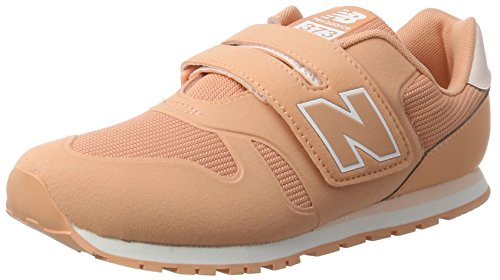 New Balance Unisex Baby Ka373 Sneaker Orange (Coral)