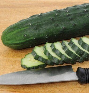 David's Garden Seeds Cucumber Slicing Marketmore 76 D336 (Green) 50 Organic (Curried Shrimp)