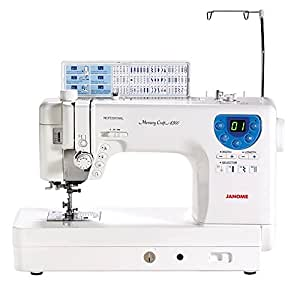 Janome MC-6300P Professional Heavy-Duty Computerized Quilting Sewing Machine w/ Extension Table, Walking Foot, Darning Foot and More!