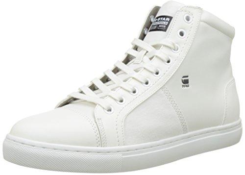 Toublo white Bianco Uomo Da Raw Scarpe star Mid Alte Ginnastica G 110 qwEzv4xU