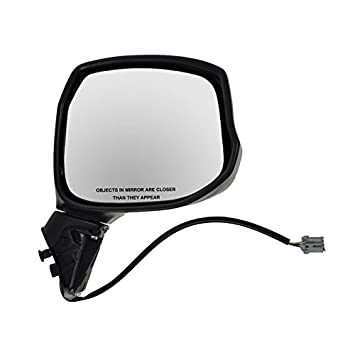 Power Smooth Black Side View Mirror Passenger Right RH for 12-13 Honda Civic