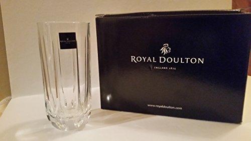 Royal Doulton Glass Highball Glass (Royal Doulton Mode Hi-ball Glasses Set/6)