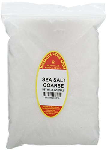 Marshalls Creek Spices Kosher Sea Salt Coarse Refill, 36 Ounce by Marshall's Creek Spices
