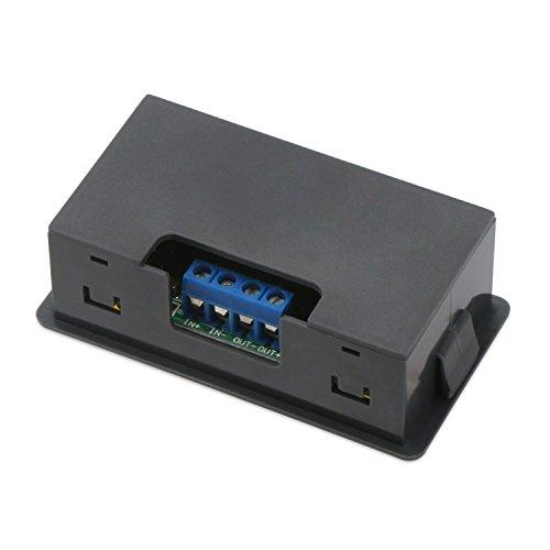 Constant Current Buck Converter, DROK Numerical Control Voltage Regulator DC-DC 4.5-23V 12v to 0-20V 9v 5v 2A Step Down Transformer Module Volt Stabilized Power Supply Board with LCD Display by DROK (Image #5)