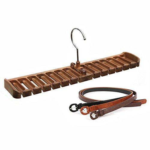 GARASANI Belt Rack, Organizer, Hanger, Holder, Holds securely up to 14 belts