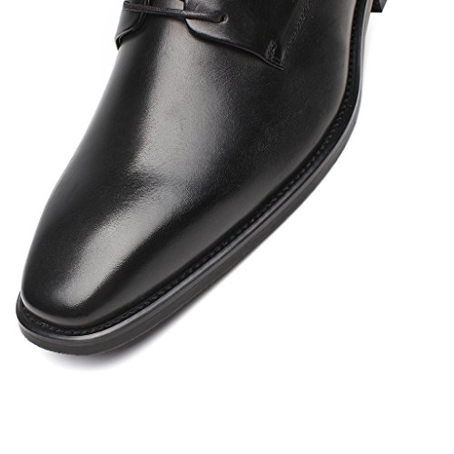 Captoe Men's Modern Round Shoes Classic Oxfords La Milano ZwYUqYf