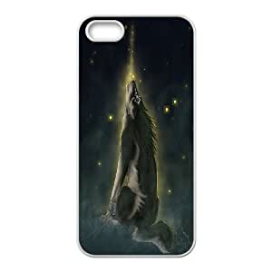 High Quality Phone Back Case Pattern Design 16Wolf Pattern- For Apple Iphone 5 5S Cases