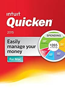 Quicken For Mac Personal Finance & Budgeting Software 2015 [Old Version]