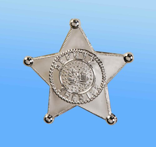 Jumbo Sheriff Star Badge (Deputy Sheriff Badge)