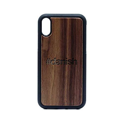 (Danish - iPhone XR CASE - Walnut Premium Slim & Lightweight Traveler Wooden Protective Phone CASE - Unique, Stylish & ECO-Friendly - Designed for iPhone XR)