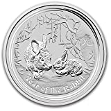 2011 Australian Silver Lunar Chinese calendar Rabbit 1 oz 999 Silver $1 Dollar