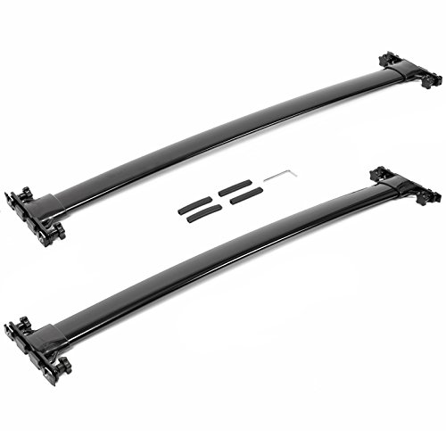 lexus-rx350-rx450h-10-15-roof-top-rack-cross-bar-luggage-carrier-2pcs-black