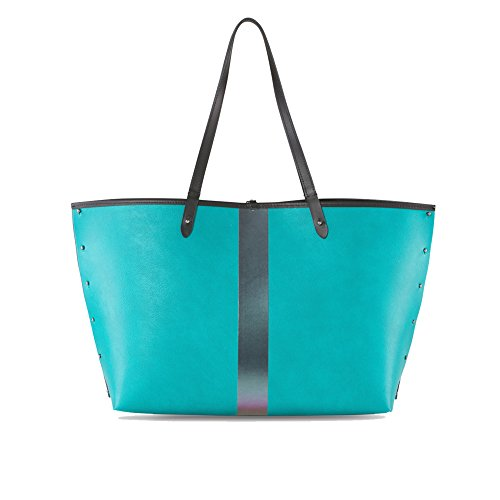 shopping tote bag OHMAI borsa reversibile doubleface bag T030 �?PERSEFONE