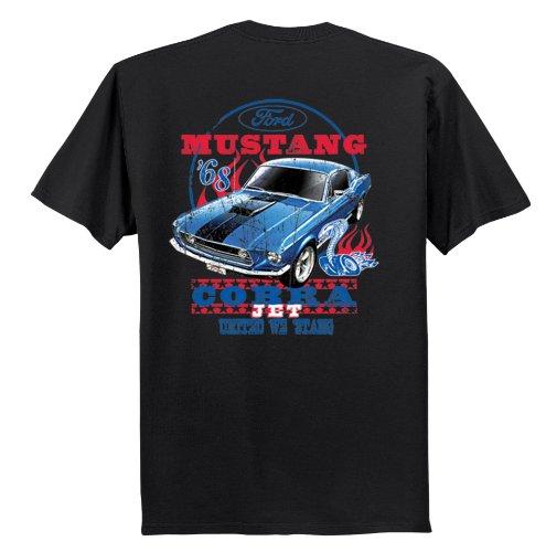 Ford Mustang T-Shirt Cobra Jet '68 United We 'Stang-Black-XXXL (Cobra Shirt Ford Xxxl)