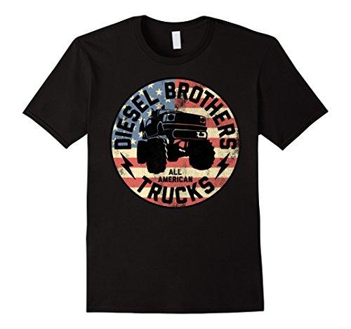 Diesel Brothers Flag Truck Seal Vintage Graphic ()