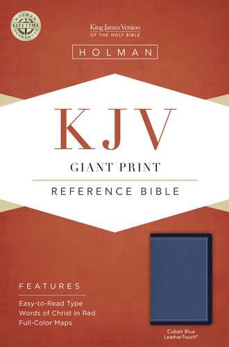 Download KJV Giant Print Reference Bible, Cobalt Blue LeatherTouch PDF