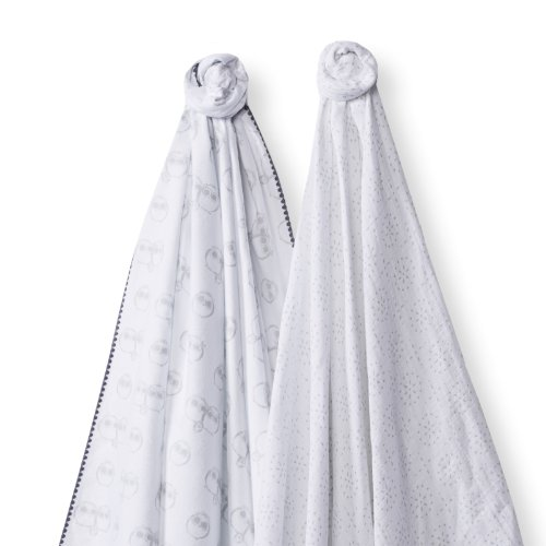 SwaddleDesigns SwaddleDuo Swaddling Blankets Sparklers