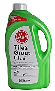 7. Hoover Tile & Grout Plus Ceramic & Stone Tile Cleaner 2X Concentrated Power Hard Floor Solution 64oz (1.89 liters) SC-43-0166-09