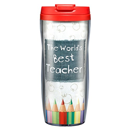 Best Teacher Polymer Travel Mug product image