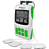 Boston Tech WE112 – Boston Tech – We-112 – professionele 3-in-1 elektrische stimulator, tens, ems, massage…