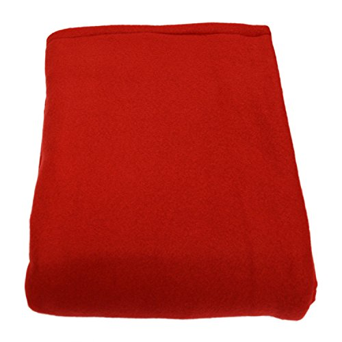 Red Medium Weight (Melissa's Weighted Blankets MADE IN THE USA (13lbs Child/Teen Size) RED 10 varieties of Fleece and Flannel combinations available in 27 different size and weight options Medium 62
