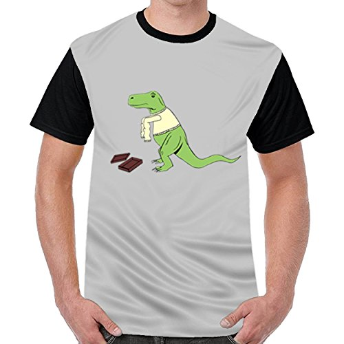 Speciallife T Rex's New Clothes Mens Funny T-Shirts Casual Tops - Ray Bin