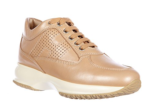 Hogan Damenschuhe Turnschuhe Damen Leder Schuhe Sneakers interactive h bucata be