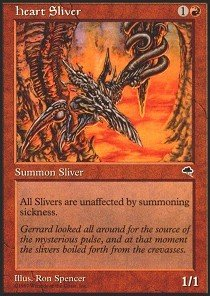 Magic: the Gathering - Heart Sliver - Tempest from Magic: the Gathering