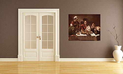 Bilderdepot24-Autoadhesivo-Fotomural-Caravaggio-Viejos-Maestros-La-ltima-cena-in-Emmaus